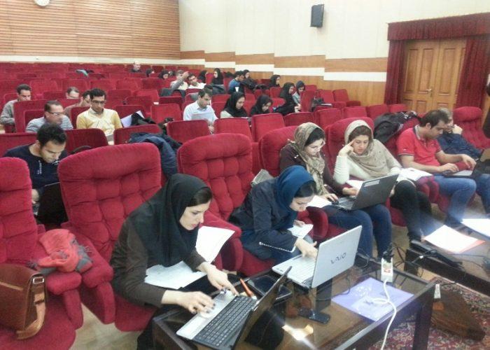 دوره آموزشی تعیین عدم قطعیت اندازه گیری در اداره کل استاندارد استان مازندران